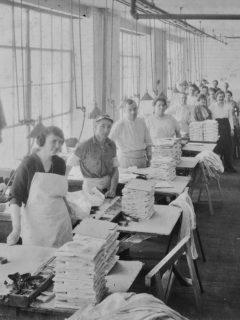 Kingston factory interior 1920s, courtesy Friends of Historic Kingston