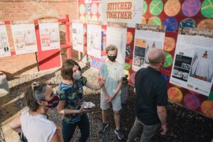 Stitched Together exhibit at the Reher Center for Immigrant Culture and History